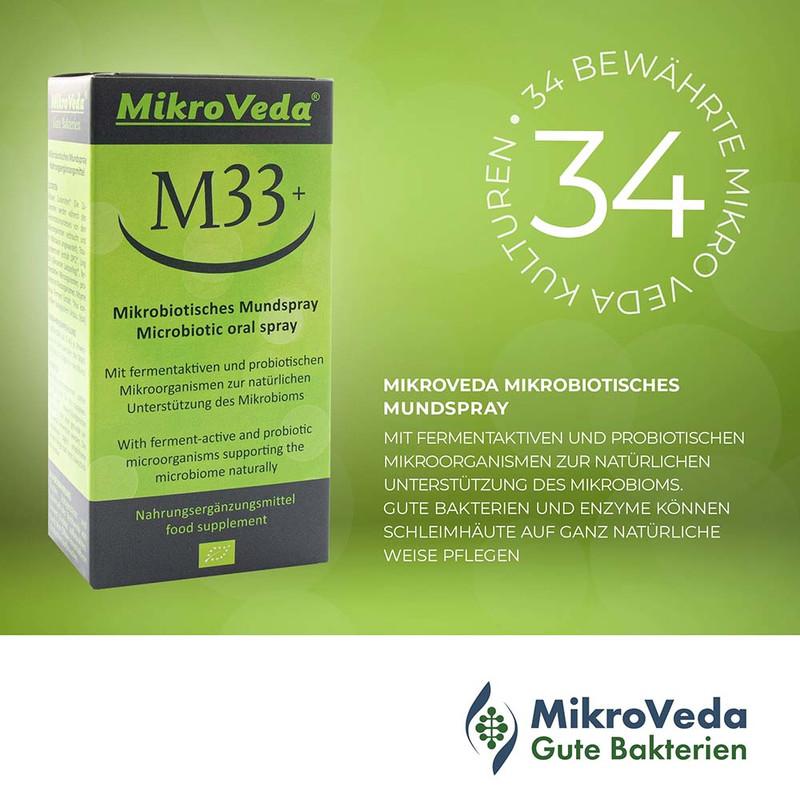 m33 mikrobiotisches mundspray 50 ml 2 - Mikroveda