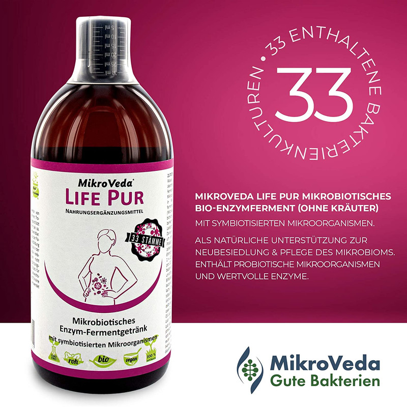 mikroveda life pur enzymferment 3 2 - Mikroveda