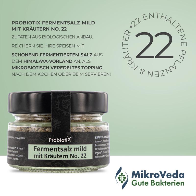 probiotix fermentsalz mild mit kraeutern no22 2 - Mikroveda